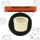 PACK OF SOFT CAMEMBERT BASKETS